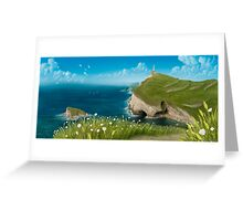 To the lighthouse Greeting Card