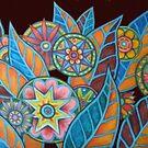 Kaleidoscope Garden II by Thea T