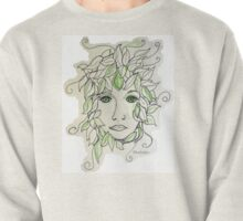 Green Woman Pullover