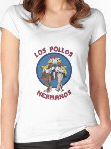 Breaking Hermanos Women's Fitted Scoop T-Shirt