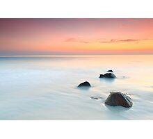 Sunrise over the sea. Photographic Print