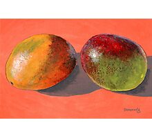 multi-colored mangoes Photographic Print