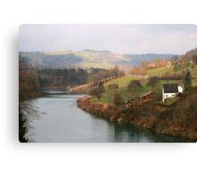 Landscape in Austria Canvas Print
