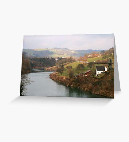 Landscape in Austria Greeting Card