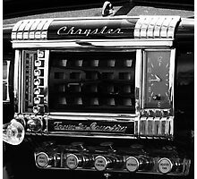 1948 Chrysler Town and Country Radio Photographic Print