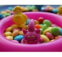 The monsters love sweets like me :) Photographic Print