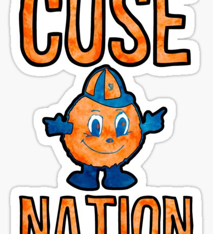 Cuse Nation Tie Dye Sticker