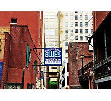 Bourbon Street Blues Photographic Print