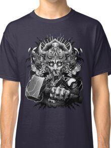 Thor Looking Dude with Hammer Classic T-Shirt