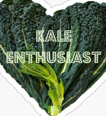 Kale Enthusiast Sticker