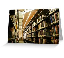 What are libraries for? Greeting Card