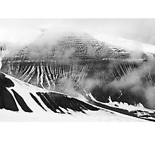 Lars Hierta and Nordenskiöld Mountain Crop Photographic Print