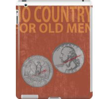 No Country For Old Men Minimalist Poster iPad Case/Skin