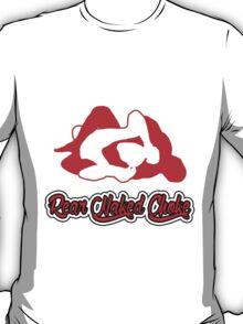 Rear Naked Choke Mixed Martial Arts Red 2 T-Shirt