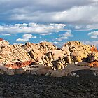 Red Rock Canyon Panorama by Eddie Yerkish