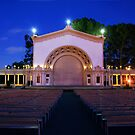 Balboa Park Amphitheater by Eddie Yerkish