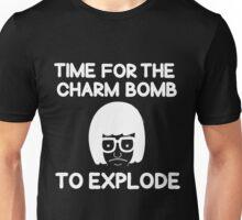Charm Bomb White Unisex T-Shirt