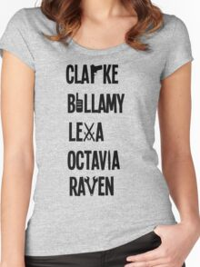 The 100 Names Women's Fitted Scoop T-Shirt