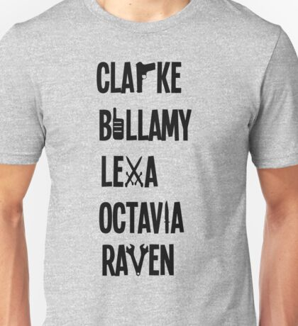 The 100 Names Unisex T-Shirt