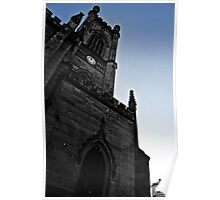 Bombed out Church Poster
