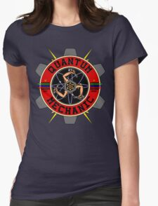 QUANTUM MECHANIC Womens Fitted T-Shirt