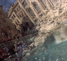Fontana di Trevi by Angela Bruno