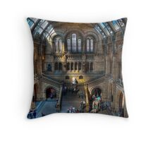 The Natural History Museum: London. Throw Pillow