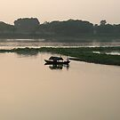 River Sunset by Victoria Kidgell