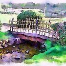 The Zen Garden Bridge by Shubd