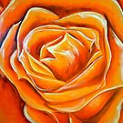 Orange rose by Allie Keech