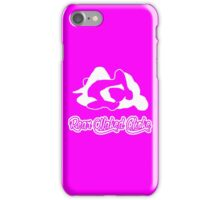 Rear Naked Choke Mixed Martial Arts White 2 iPhone Case/Skin