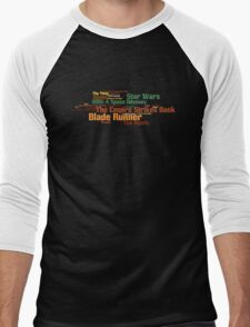 The Top 25 Sci-Fi Films of All Time Men's Baseball ¾ T-Shirt