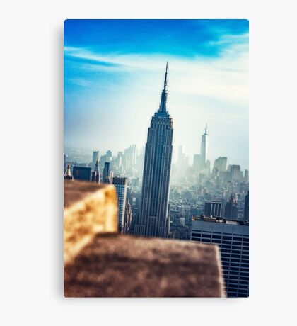 Empire State Building New York Canvas Print