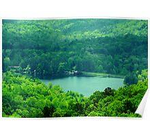 Hidden Mountain Lake Poster