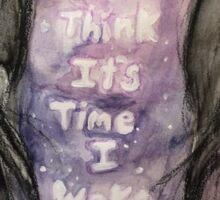 i think its time i wake up Sticker