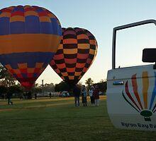 Balloons at Canowindra - Byron Bay Ballooning by DashTravels