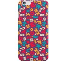 Korean ABC iPhone Case/Skin