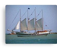Schooner on Lake Michigan Canvas Print