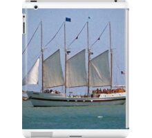Schooner on Lake Michigan iPad Case/Skin
