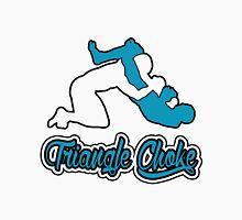 Triangle Choke Mixed Martial Arts Blue  T-Shirt