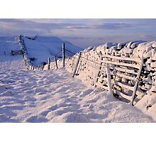 Winter on The Helm - Cumbria Photographic Print