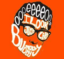 Buddy Holly by Weezer Kids Tee