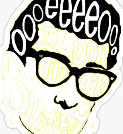 Buddy Holly by Weezer Sticker