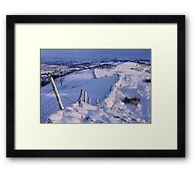 Winter Morning - The Helm, Cumbria Framed Print