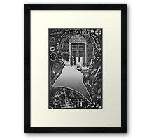 What is it Like in Your Funny Little Brains? Framed Print