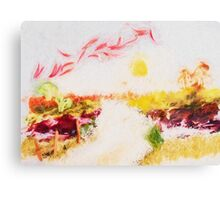 vegetable country  paysage Canvas Print