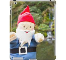 Garden Falls Gnome iPad Case/Skin