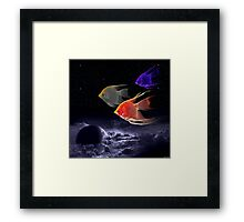 Voyage In The Clouds Framed Print