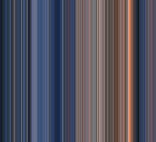 Moviebarcode: Terminator 2: Judgment Day (1991) [Simplified Colors] by moviebarcode