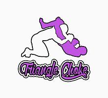 Triangle Choke Mixed Martial Arts Purple  T-Shirt